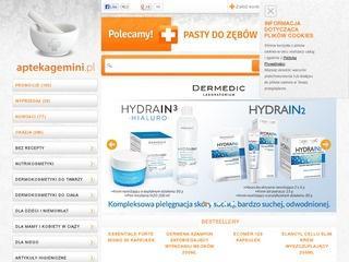 AptekaGemini.pl/category/dermokosmetyki-do-twarzy
