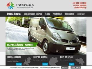 Komfortowe busy do Holandii