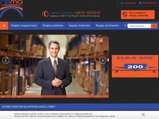REMA - przedsiębiorstwo oferujące regał magazynowy